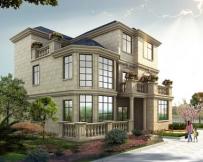 永云别墅AT069三层带露台豪华别墅设计全套建筑施工图纸11m×13.8m