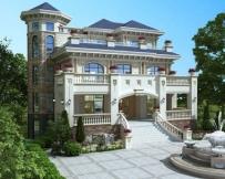 永云别墅AT1688三层复式豪华带地下室别墅建筑设计图纸16.1mx18.1m