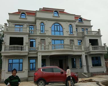 邵阳朱总最最好看高端双拼复式别墅设计施工案例