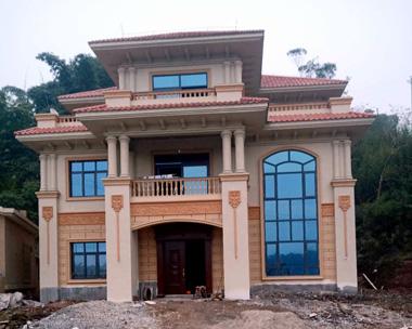 成都罗先生AT1700三层豪华高端别墅施工案例图欣赏