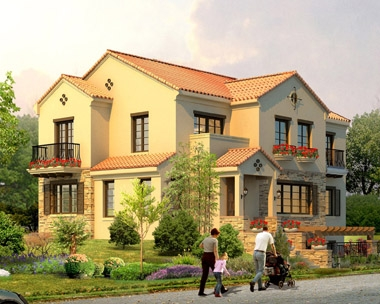 AT987二层青岛海滨复式办公别墅建筑设计图纸17m×11m
